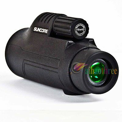 Suncore 10x42 Monocular Telescope HD Optical Glass Night Vision Waterproof【AU】