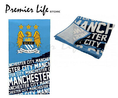 Manchester City F.C Beach Bath Towel Impact Design