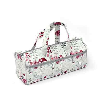 Flirt Floral Rectangle Classic Sewing Knitting Craft Bag