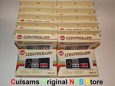 12 New Nintendo Nes Game Controllers Wholesale Lot With 30 Day Guarantee