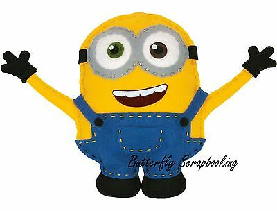 MINIONS BOB Felt Fun Sewing Embroidery Kit by Dimensions 72-74481 NEW