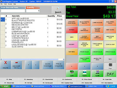 PC America - Cash Register Express Pro Software/ Best Retail POS Software