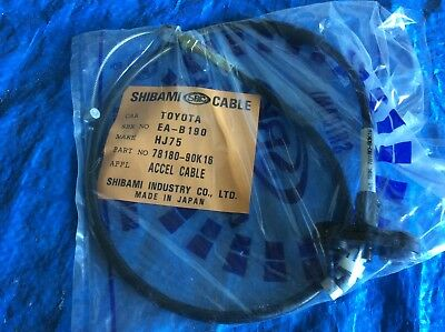 Toyota Landcruiser        Accelerator cable       HJ75          78180-90K16