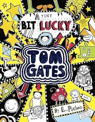 A Tiny Bit Lucky (Tom Gates) by Liz Pichon New Paperback Book