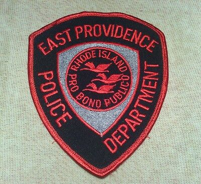 RI East Providence Rhode Island Police Patch
