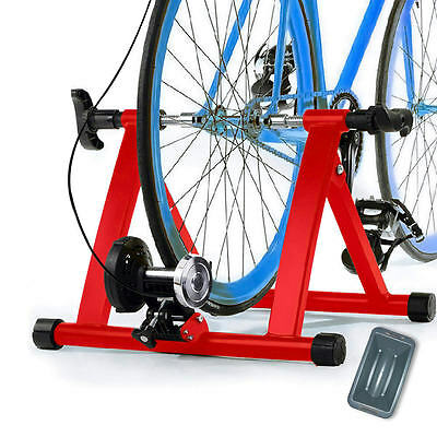 8 Resistance Magnetic Bicycle Indoor Exercise Bike Trainer Stand