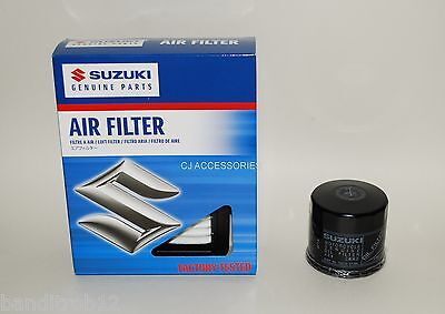 Genuine Suzuki Air & Oil Filter Set GSF600 95-99 GSF1200 96-00 Bandit MK1