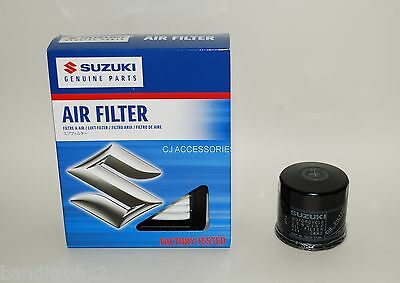 Genuine Suzuki Air & Oil Filter Set GSX650 F (2008-2015) GSX1250 F (2010-2014)