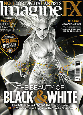 Imagine FX #126 October 2015 THE BEAUTY OF BLACK & WHITE Charlie Bowater @NEW@