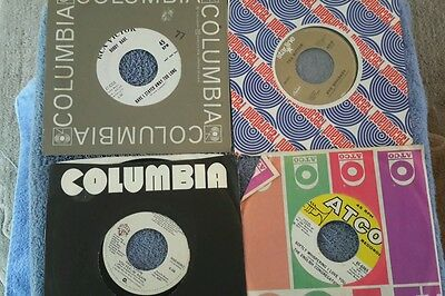 Random lot of 45's records Roy Orbison/ Chris Price , Rye whiskey etc