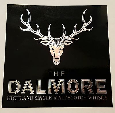 The Dalmore scotch whisky sticker / decal