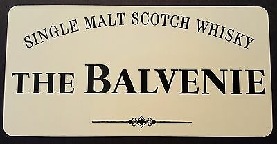 The Balvenie scotch whisky sticker / decal
