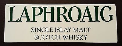 Laphroaig scotch whisky sticker / decal