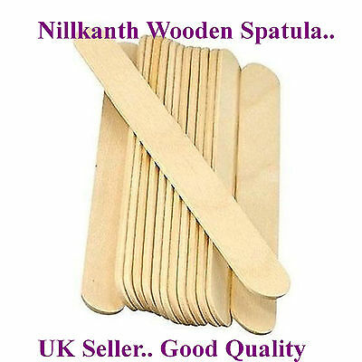 High Quality Waxing Sticks Large, Tongue Depressor Wooden Spatula 15cm 100 50 20