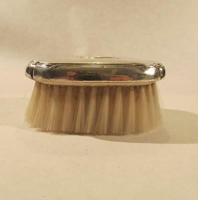 Antique Sterling Silver Baby Hair Brush