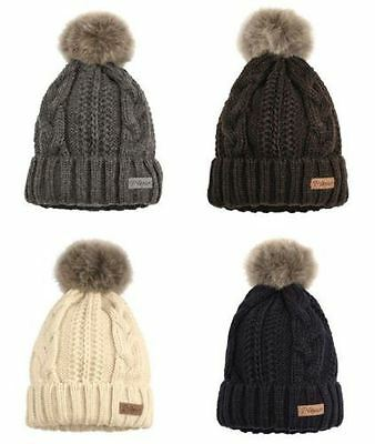 Pikeur Bobble Hat AW15 Knitted Hat - Choose Colour!