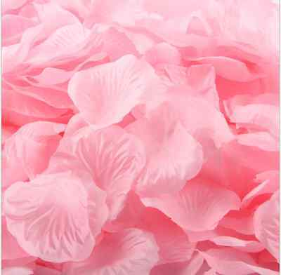 36 Colors 500/1000pcs Silk Rose Petals Wedding Party Decorations  Flower Favors