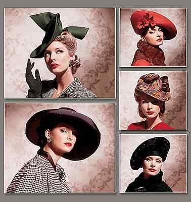 NEW | Vogue Vintage Accessories Sewing Pattern 7464 Vintage Hats | FREE SHIPPING