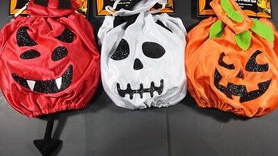 NEW Simply Dog XS/S or M/L pet Halloween costume PICK Devil Ghost or Pumpkin