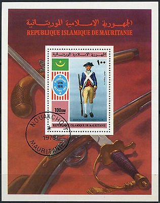 Mauritania 1976 SG#MS499 American Independence Cto Used M/S #A92941