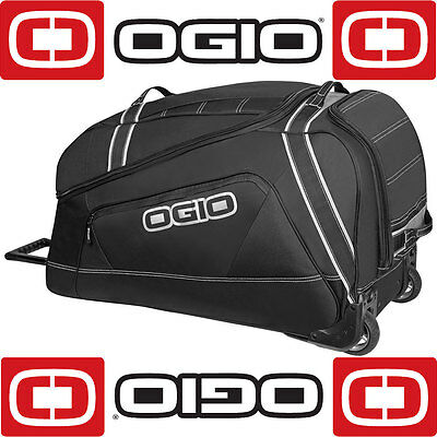 Ogio Big Mouth Stealth Black Grey 140 Litre Motorcycle Moto X Kit Gear Luggage B