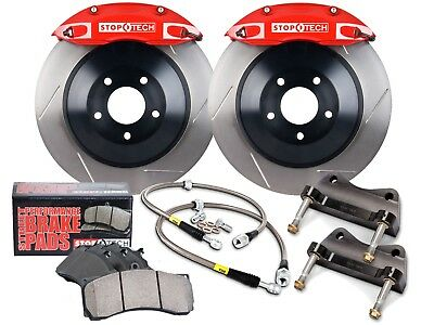 Stoptech Touring Bbk Big Brake Kit (Front/red/6 Pistons/slotted/360Mm Rotors)
