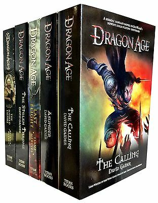 Dragon Age Series 5 Books Collection Set By David Gaider