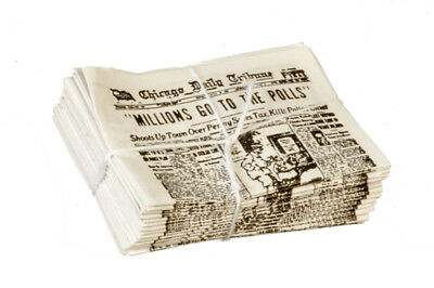 Newspapers, Dolls House Miniatures, Books, Study, Cake Decorations.