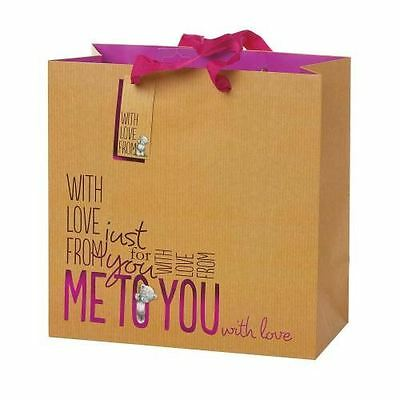 Me to You Tatty Teddy Bear - Large Gift Bag