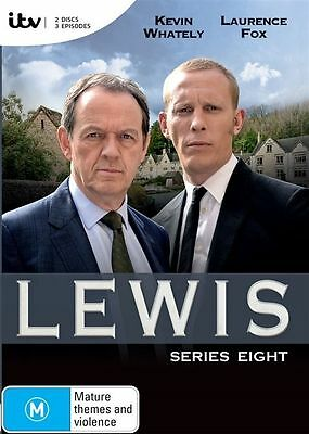 Lewis The Complete Season Series 8 DVD New & Sealed R4