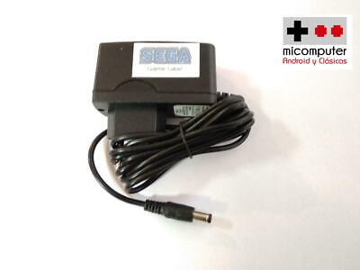 Transformador Sega Game Gear, fuente alimentación, power supply, cargador