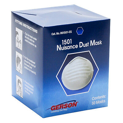 Gerson 1501 Disposable Nuisance Dust Mask 50/box
