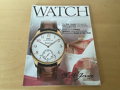 The WATCH Magazine from IWC SCHAFFHAUSEN No.3 - September 2005 - Revista - ENG