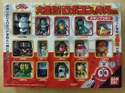 * NEW * ROBOCON RED ROBOT JAPAN ANIME FIGURE SET OF 14