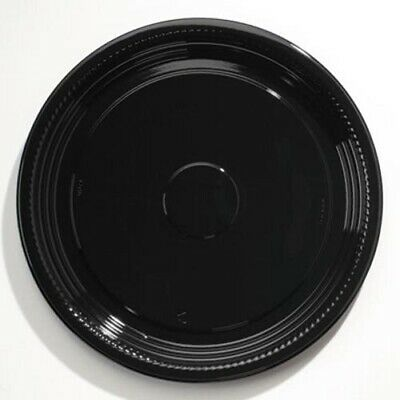"""Wna Caterline Casuals Thermoformed Platters, PET, Blk, 16"""" Diameter (WNAA516PBL)"""