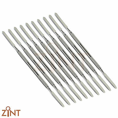 10 pcs Dental Amalgam Mixing Spatula Cement Spatula Restorative Instruments Lab