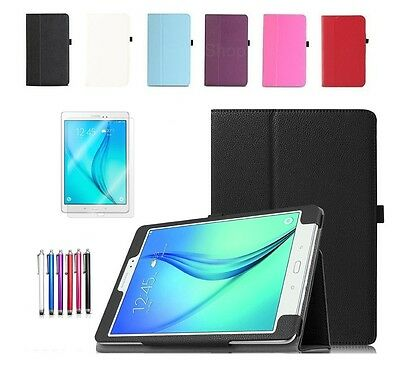 "Smart Leather Stand Case Cover For Samsung Galaxy Tab A 9.7"" SM-T550/T551/T555"