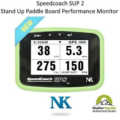 NK SpeedCoach SUP 2 Stand Up Paddle Board Performance Monitor with Training Pack