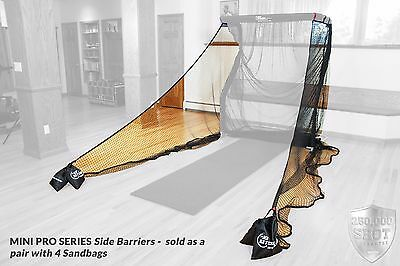 The Net Return Side Barriers for Pro Series Net with Sand Bags BARRIERS ONLY