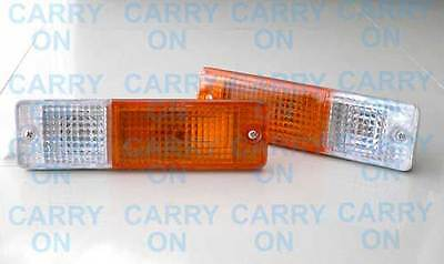 Nissan Patrol MQ 4WD Front Bar TURN SIGNAL MARKER BLINKER LIGHTS 80 81 82 83 87
