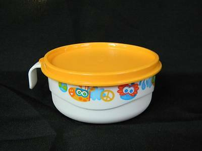 Tupperware Baby Toddler Early Stages Feeding Cup Bowl w/ Handle & Seal Set New