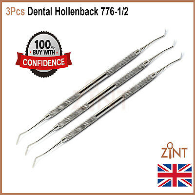 Dental Hollenback Wax Modelling Carver Restorative Composite Tool 3Pcs 776-1/2
