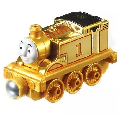 Thomas Tank Engine GOLD 70th FISHER PRICE Diecast Special Edition CFR91 RARE NEW
