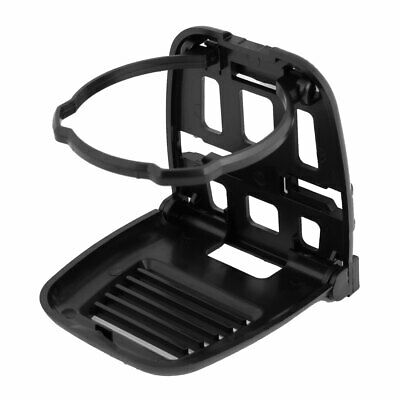 Automobile Air Vent Plastic Folding Drink Cup Bottle Holder Stand Black