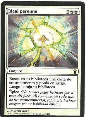 mtg Magic 1x Enduring Ideal ( Ideal perenne ) Spanish GOOD