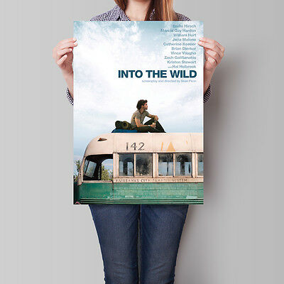 Into the Wild Poster 2007 Movie Emile Hirsch A2 A3 A4
