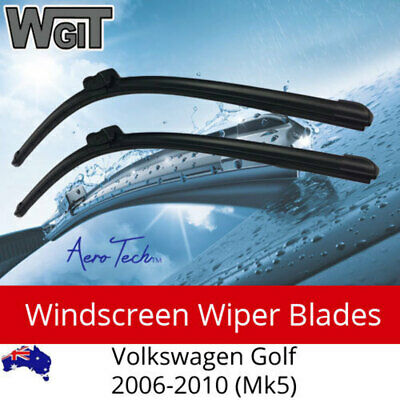 Windscreen Wiper Blades  For Volkswagen Golf 2006-2010 (Mk5) - Aero Design (PAIR