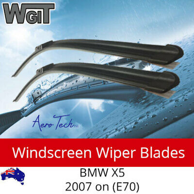 Windscreen Wiper Blades For BMW X5 2007 on (E70) - Aero Design (PAIR)