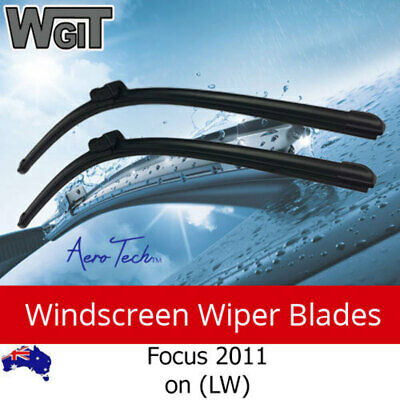 Windscreen Wiper Blades Suit FORD Focus 2011 on (LW) - Aero Design (PAIR)