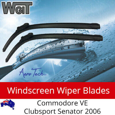 Windscreen Wiper Blades HSV FOR Commodore VE Clubsport Senator 2006 on-Aero